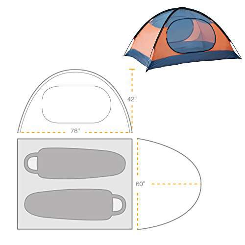 Winterial 2 Person Tent  sc 1 st  C& Stuffs & Winterial 2 Person Tent - Lightweight Camping - Campstuffs