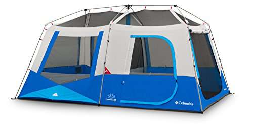 Columbia Fall River 10 Person Instant Tent ...  sc 1 st  C& Stuffs & Columbia Fall River 10 Person Instant Tent (Compass Blue) - CAMP ...