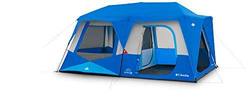 Columbia Fall River  Person Instant Tent Compass Blue