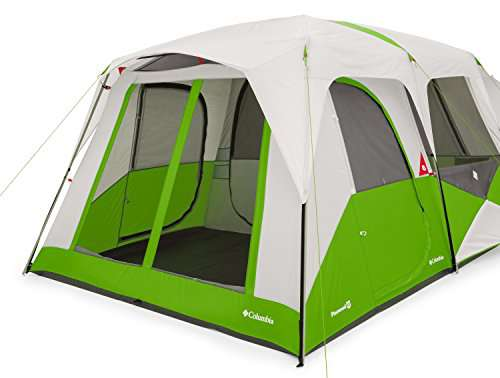 Columbia Pinewood  Person Dome Tent Fuse Green