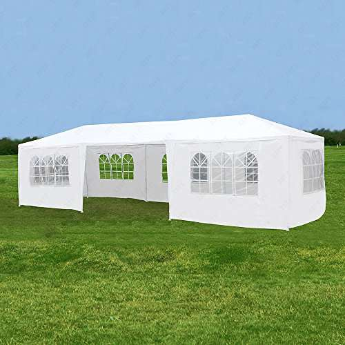 IPyramid Canopy Party Wedding Tent Heavy Duty Gazebo Pavilion Cater Outdoor Event 10u0027x30u2032 & IPyramid Canopy Party Wedding Tent Heavy Duty Gazebo Pavilion ...