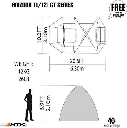 NTK Super Arizona GT 12 Person