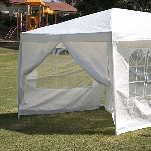 Oshion 10u0027x30u2032 White Outdoor ... & Oshion 10u0027x30u0027 White Outdoor Gazebo Canopy Heavy Duty Wedding ...
