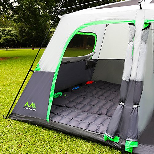 Arctic Monsoon Tent 8 Person 2 Room - CAMP STUFFS