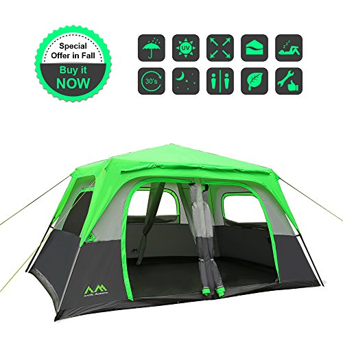 Arctic Monsoon Tent  sc 1 st  C&stuffs & Arctic Monsoon Tent 8 Person 2 Room - CAMP STUFFS