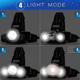 MSForce Headlamp 6000 Lumen 5