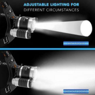 MSForce Headlamp 6000 Lumen 6