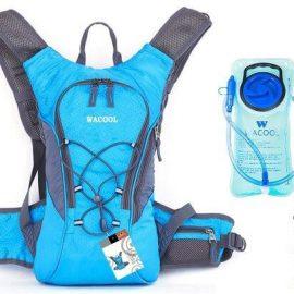 Wacool Hydration Bladder Waterproof Pack, Hiking Lightweight Daypack