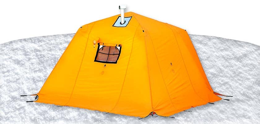 Arctic Oven Tent 12 with Vestibule - Arctic Tent 4 Season 4-5 Person for Cold Weather Tents