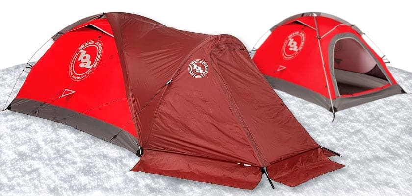 Big Agnes Shield Tent - 2 Person 4 Season for Cold weather tents Winter Camping