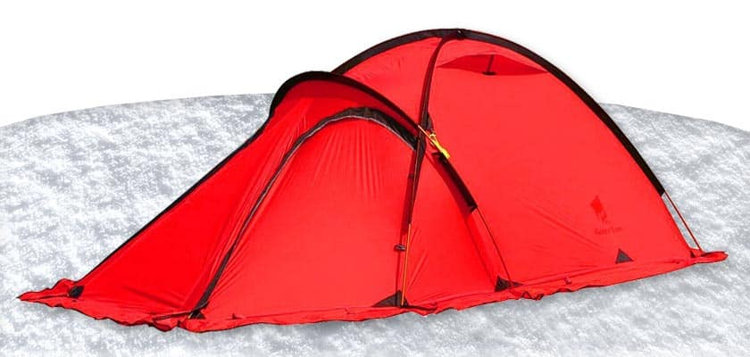 Geertop 2 Person Tent - 4 Season Winter Camping Ultralight Cold Weather Tents Winter Tent
