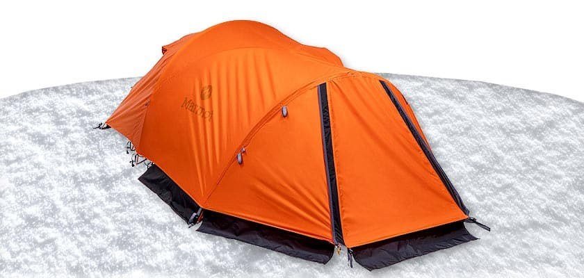 Marmot Thor 2P Tent 2017 - 2 Person Winter Camping Cold Weather Tents Winter Tent