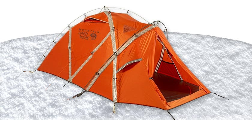 Mountain Hardwear EV 2 Person Tent - Winter Camping Backpacking Cold Weather Tents Winter Tent