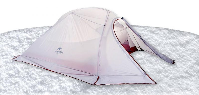 Naturehike Cloud-Up 3 Person tent - 4 Season Winter Camping Ultralight Backpacking Cold Weather Tents Winter Tent