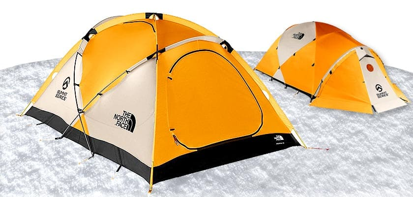 The North Face Mountain 25 - 2 Person Winter Camping Cold Weather Tents Winter Tent