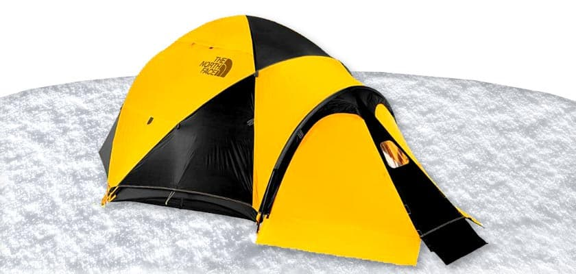 The North Face VE 25 - 3 Person Tent Summit Gold Winter Tents Winter Camping