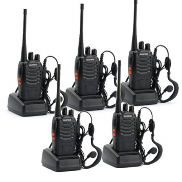 5-Pack-BaoFeng-BF-888S-Long-Range-UHF-400-470-MHz-5W-CTCSS-DCS-Portable-Handheld-2-way-Ham-Radio-with-Original-Earpiece-5-pcs-Baofeng-Programming-Cable-Support-WIN764-Bit-0