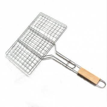 AUCH-NewDurableUseful-Outdoor-Stainless-Steel-Simply-Grilling-Nonstick-Flexible-Grilling-Basket-for-Barbecue-Picnic-Camping-Outdoor-Activities-0