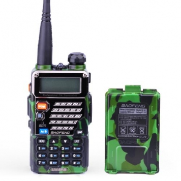 BaoFeng-UV-5RB-Dual-Band-136-174400-480-MHz-FM-Ham-Two-Way-Radio-Replacement-Battery-Army-Green-0