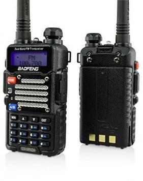 Baofeng UV-5R V2+ Dual-Band Two-Way Radio