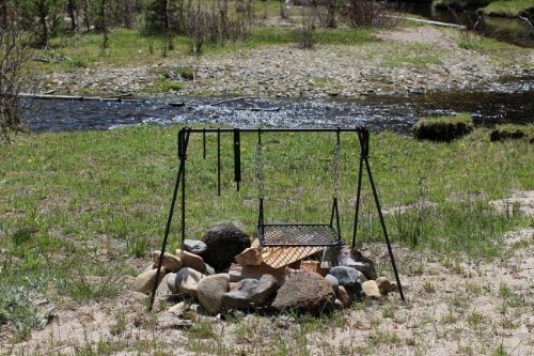 Frontier-Campfire-cooker-BBQ-cooking-grill-0