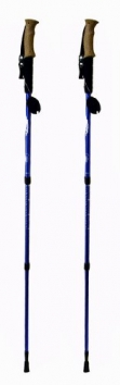 Hikker-HP-5-Anti-shock-Hiking-Pole-2-pack-Anti-Shock-Hiking-Walking-Trekking-Trail-Poles-1-Pair-With-Compass-Thermometer-0