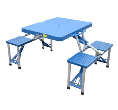 Outsunny-Outdoor-Portable-Folding-Camp-Suitcase-Picnic-Table-with-4-Seats-Blue-0