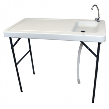 Palm-Springs-Folding-Portable-Fish-Fillet-Cleaning-Hunting-Table-with-Sink-0