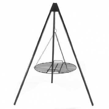 Sunnydaze-Tripod-Grilling-Set-with-Cooking-Grate-22-Inch-Diameter-0